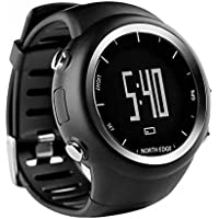 Hzhy Inteligente al Aire Libre Deportes Reloj Bluetooth Podómetro North Edge GPS Track Podómetro Reloj Digital Impermeable Reloj Monitor de Ritmo Cardíaco Smart Watch