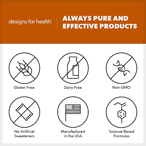 Designs for Health GI Revive Powder - Gut Lining + Regularity Support with Slippery Elm + Marshmallow Root (225g / 28 Servings) by designs for health (Image #2)