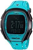 Timex Ironman Sleek 150 Neon Quartz Resin Running Watch Color Blue Model TW5M006009J