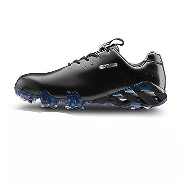 2f190a1d5901 Mizuno Men's Genem Elite Golf Shoes - White, Size 6+: Amazon.co.uk ...