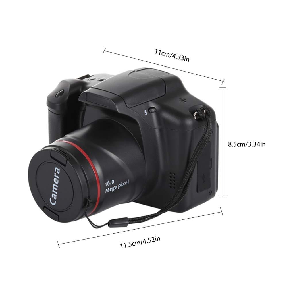 Fornateu HD SLR Kamera Tele-Digitalkamera 5 Megapixel Digital Fest Objektiv 16x Zoom AV-Schnittstelle