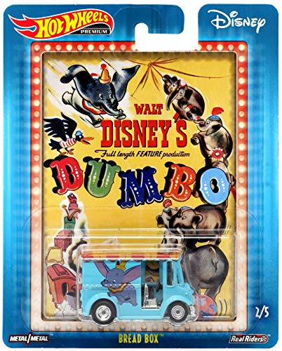 Hot Wheels Disney Premium Dumbo, Blue Bread Box 2/5