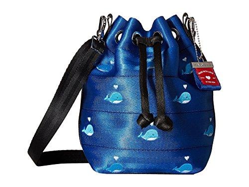 Harveys Seatbelt Bag Women's Collectors Series Mini Park Hopper Whale Hello There One Size ()