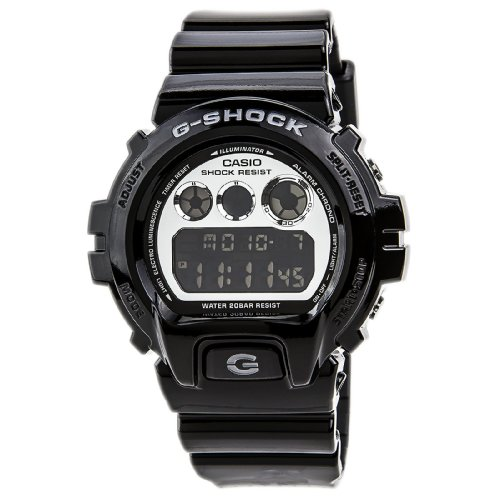 G Shock Metallic 6900 Watch Black