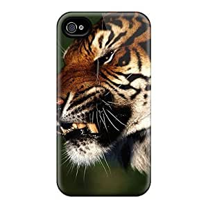 Durable Cases For The Iphone 6- Eco-friendly Retail Packaging(tiger)