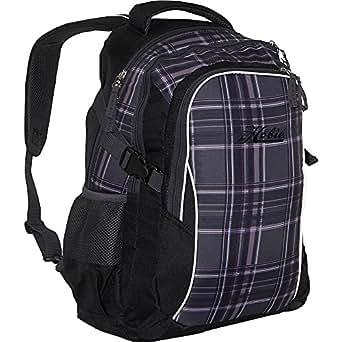 Hobie Hobie Arktos Laptop Backpack (Black-Grey-Purple Plaid)