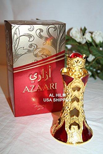 Khadlaj Azaari for Men and Women (Unisex) CPO - Concentrated Perfume Oil (Attar) 18 ML (0.61 oz)