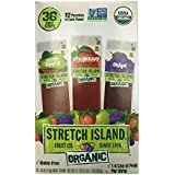 Stretch Island Fruit Leather ORGANIC Variety Pack 36-Count, 0.5-Ounce Package