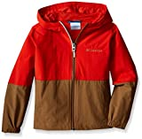 Columbia Big Boys' Bail On The Trail Jacket, Super Sonic/Delta, Medium