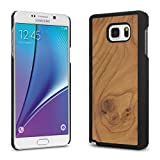 Cover-Up #WoodBack Real Wood Case for Samsung Galaxy Note 5 - (Carpathian Elm Burl)