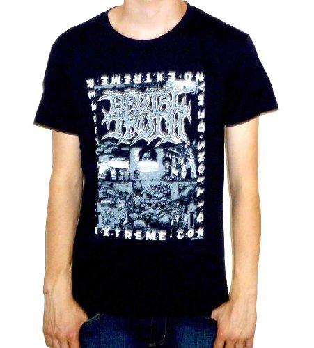 ピック合計反対するBrutal Truth - Extreme Conditions Demand Extreme Responses T-shirt Tシャツ ブルータル?トゥルース
