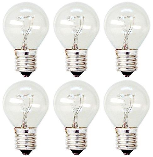 ge lighting 35156 40 watt high intensity appliance light s11 1cd bulb 6 bulbs. Black Bedroom Furniture Sets. Home Design Ideas