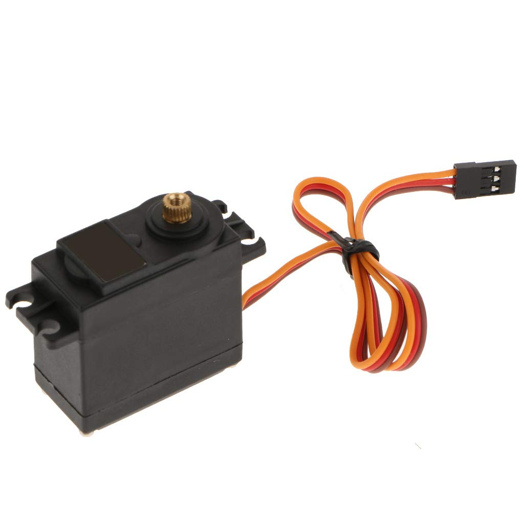 Metal Gears Servo D DOLITY High Speed 360 Degree Continuous Rotation Servo for Robotic 15kg//cm