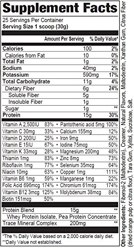 Diet Support Meal Replacement Shake – Rich Vanilla Bean