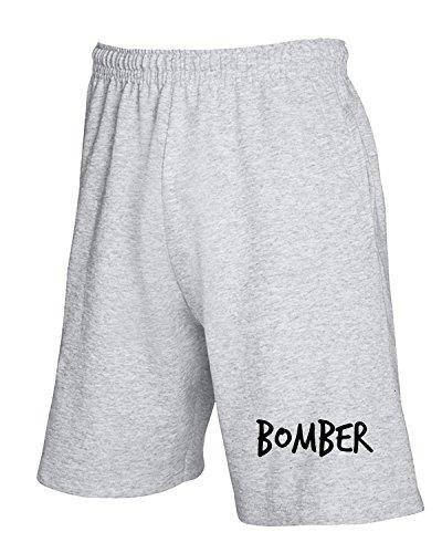 Tuta T shirtshock Pantaloncini Grigio T1215 Bomber EBxaBqRFn