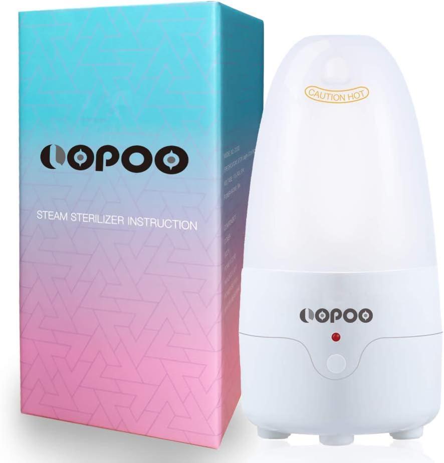 Lopoo - Limpiador de tazas menstruales con esterilizador de ...