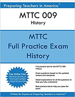 Book MTTC 009 History: MTTC History - Michigan Test For Teacher Certification