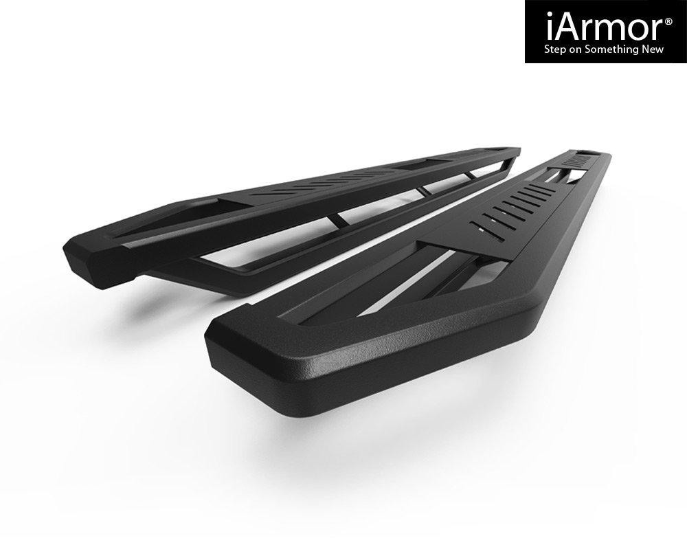 Nerf Bars | Side Steps | Side Bars Off-Road 6.5 Side Armor Aluminum Running Boards Custom Fit 2002-2008 Dodge Ram 1500 Quad Cab Pickup 4-Door /& 2003-2009 Ram 2500//3500 APS