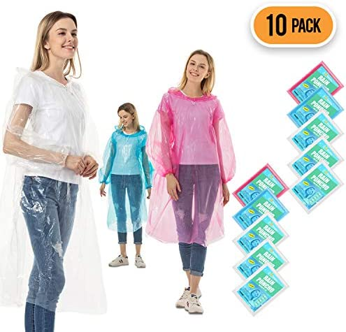 Rain Ponchos Adults Disposable Waterproof product image