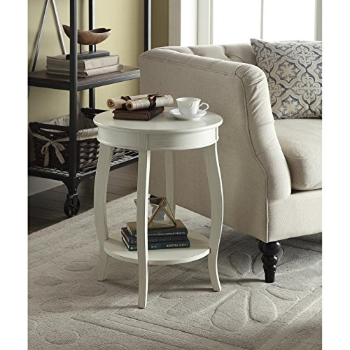 Chin Shu Yvonne Round Table in Antique White Review