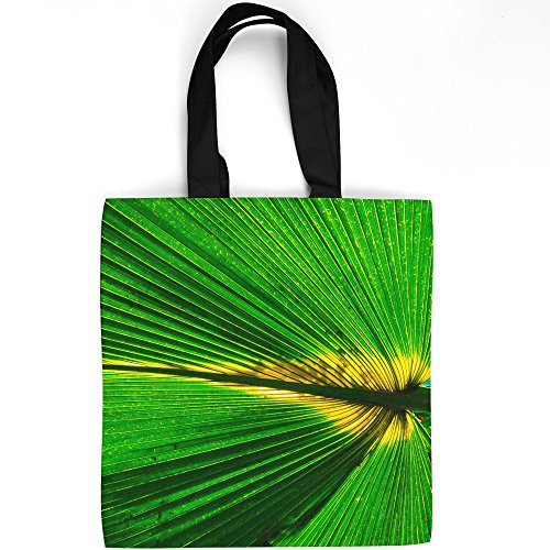 Westlake Art - Tree Leaf - Tote Bag - Picture Photography Shopping Gym Work - 16x16 Inch - Flora Saw Palmetto