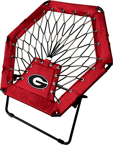 Imperial Officially Licensed NCAA Furniture: Basic Bungee Chair, Georgia Bulldogs