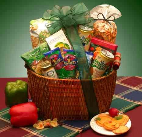 Heart Healthy Snacks Gift Basket by GBDS