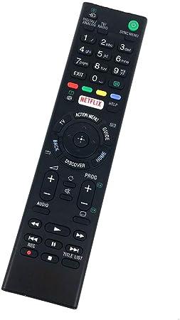 Mando a Distancia Compatible con Sony KD-49XD7005 RMT-TX200E KD-50SD8005BU KD-55XD7005 KD-65XD7505BU KD49XD7005 RMTTX200E KD50SD8005BU KD55XD7005 KD65XD7505BU Smart LED HD TV: Amazon.es: Electrónica
