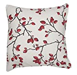 Caught Ya Lookin' S248-LinenBerry Pillow Cover, Red