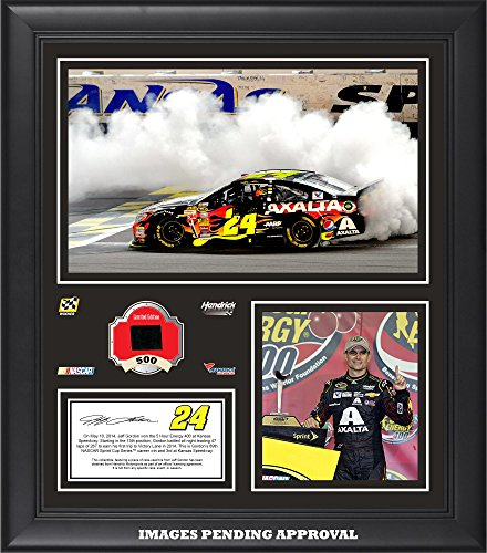 Gordon NASCAR Speedway Collage Race Used