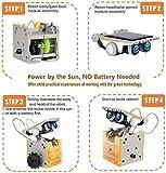 CIRO solar robot kit 12 in 1 educational STEM