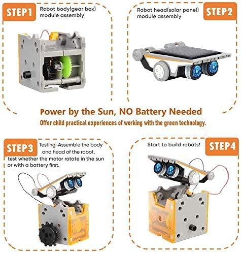 CIRO STEM Projects | 12-in-1 Solar Robot Toys, Education ...