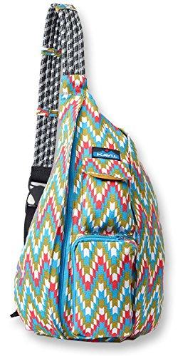 KAVU Rope Backpack, Garden Tile, One Size