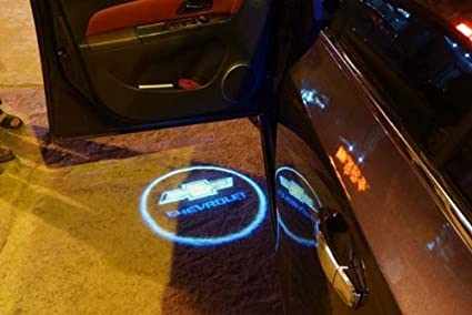 Amazon Com Wireless Chevy Ghost Door Logo Projector Shadow Puddle