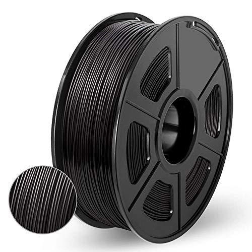 Carbon Fiber Filled PLA 3D Printer Filament, Extremely Rigid Carbon Fiber Filament, Premium 3D Printer Filament 1.75mm +/- 0.02mm, 1 KG (2.2 lb)