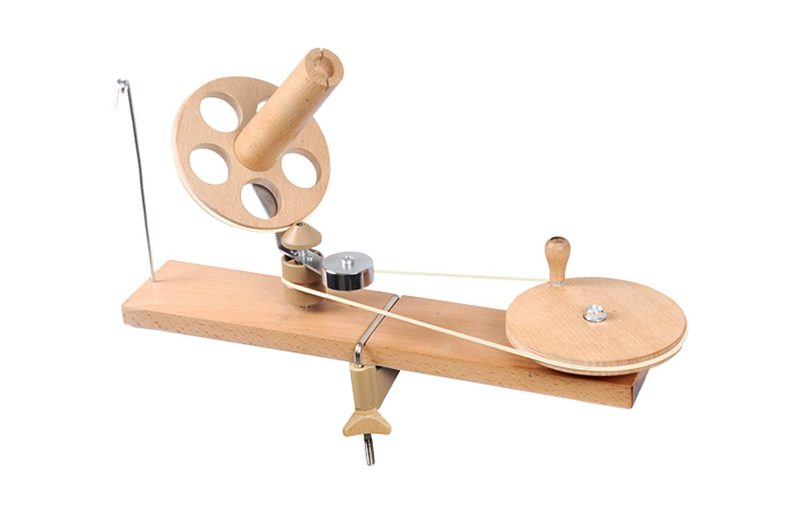KnitPro Natural Birch Wood Mega Ballwinder (Natural Mega Ballwinder 35005)