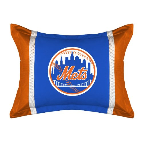Sports Coverage MVP New York Mets Standard Pillow Sham
