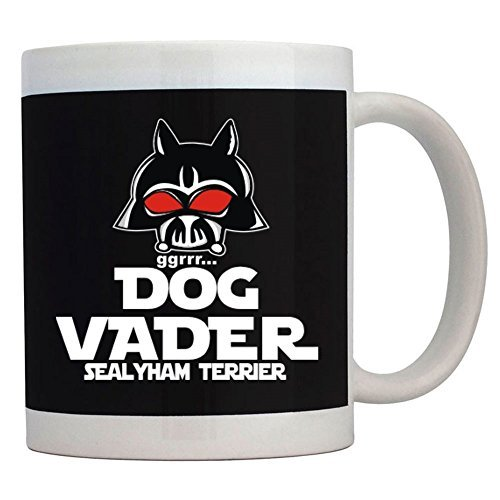 Funny Coffee Mug DOG VADER Sealyham Terrier Mug 11 OZ ()