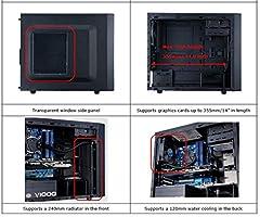 Cooler Master N200 - Caja de Ordenador (Mini-Tower, PC, Micro-ATX ...