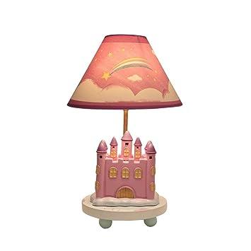 Lámpara Escritorio, cálida y Encantadora niña Rosa Lámpara ...