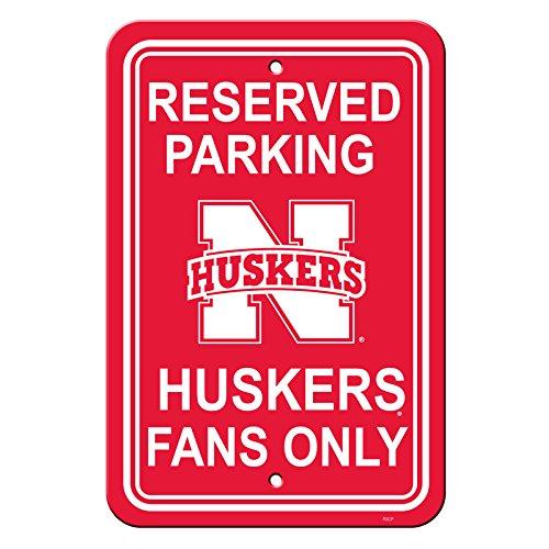 NCAA Nebraska Cornhuskers Parking Sign