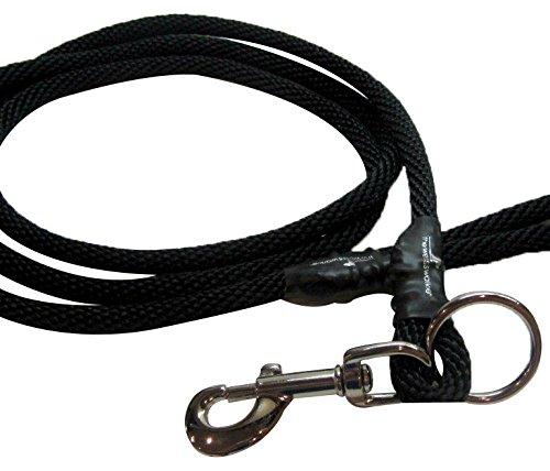 Weiss Walkie Dog Training Leash Large Black