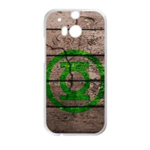 Happy Wooden Logo Pattern Hot Seller Stylish Hard Case For HTC One M8