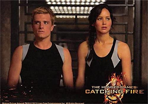 Jennifer Lawrence Josh Hutcherson Trading Card Katniss Peeta The Hunger Games Catching Fire 2013 Meca 32 At Amazon S Entertainment Collectibles Store