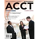 Managerial ACCT (with CengageNOW with eBook Printed Access Card and Review Cards) by Roby Sawyers (2010-01-12)