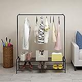 BOFENG Garment Rack Industrial Free-Standing