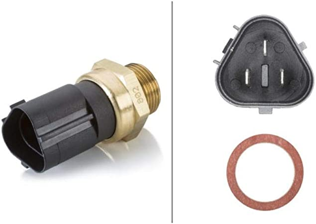 HELLA 6ZT 007 800-111 Interruptor de temperatura, ventilador del ...