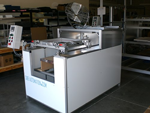 SIBE AUTOMATION VACUUM FORMING MACHINE 24''X24'' THERMOFORMING INFRARED HEATERS by SIBE Automation