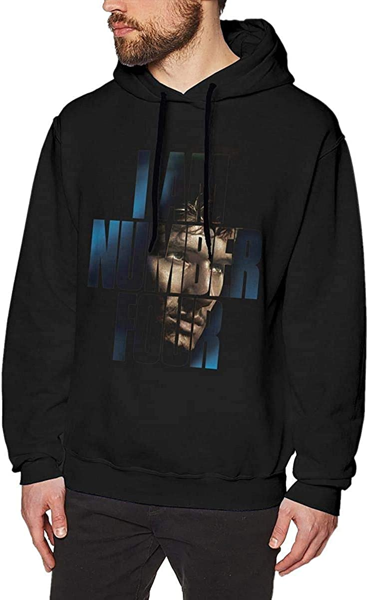 FAIDmen I AM Number Four Movie Cotton Hoodie Sweatshirt Black Sweater Sport Pullovers Winter Long Sleeve Hoodies