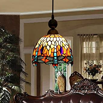 Red dragonfly stained glass chandelier chandelier bar entrance red dragonfly stained glass chandelier chandelier bar entrance hallway chandelier baroque chandeliers clubs aloadofball Gallery